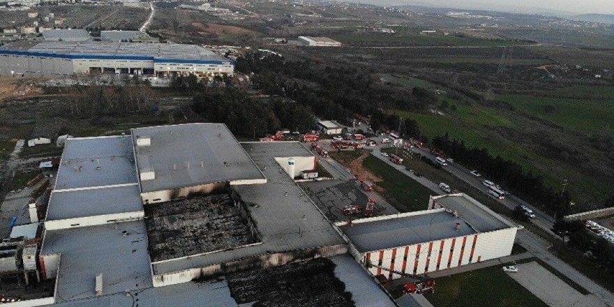 Tuzla'da et üretim tesisinde yangın! 2 ölü