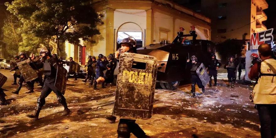 Pandemi krizi Paraguay'da sokak olaylarına sebep oldu