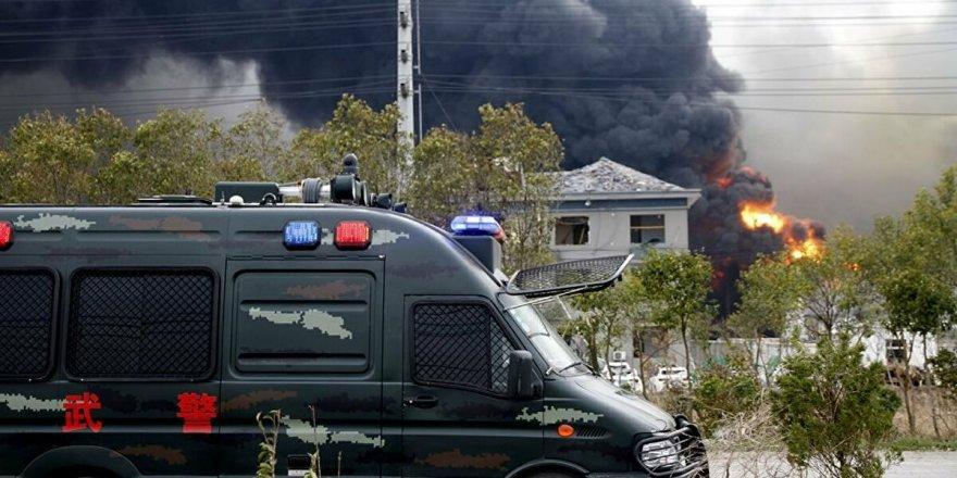 Çin'de kimya fabrikasında patlama meydana geldi!