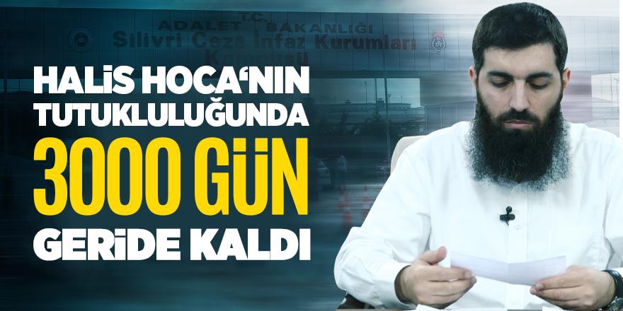 Halis Hoca'nın tutukluğundan 3 bin gün geride kaldı!