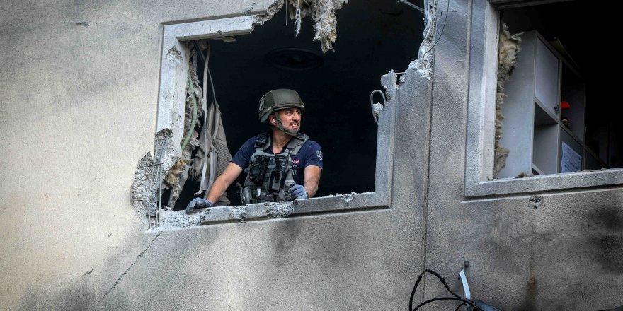 Gazze'den atılan bir roket Yahudi yerleşim bölgesini vurdu!