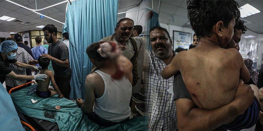 İşgalci İsrail'in Gazze'ye saldırılarında ölenlerin sayısı 53'e yükseldi