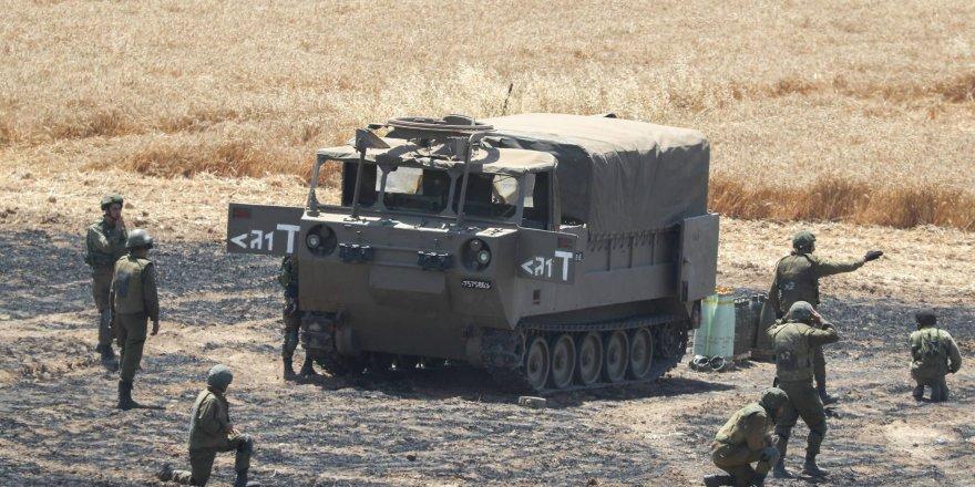 İsrail ordusu, Gazze Şeridi'ndeki evleri ve tarım arazilerini hedef aldı