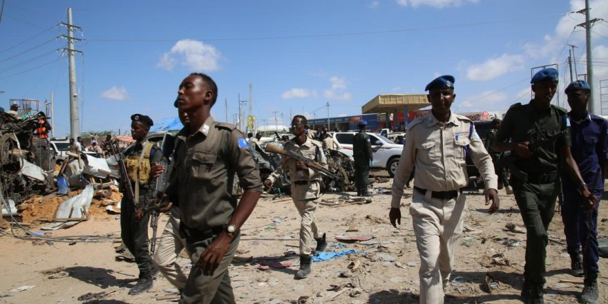 Somali'de askeri eğitim merkezine canlı bombalı saldırı düzenlendi