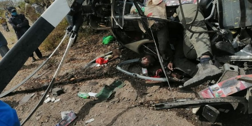 Kenya'da askeri helikopter kazası: 17 ölü