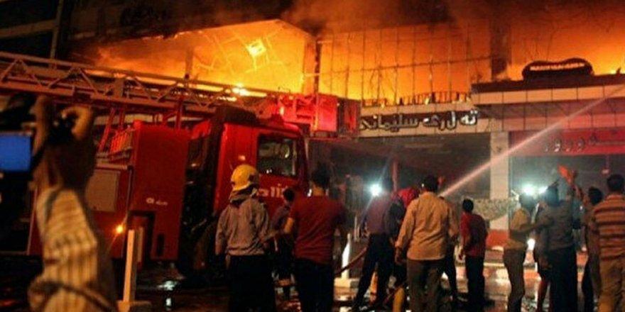 Irak'ta pandemi hastanesinde yangın: 45 ölü