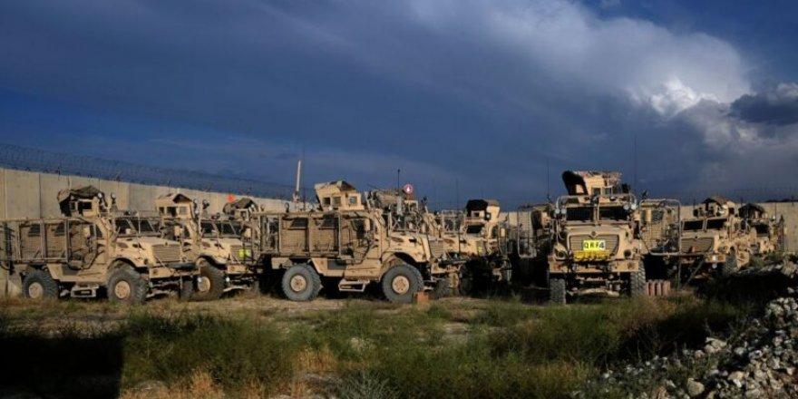 ABD Kabil'den çekilirken askeri araçları kullanılamaz hale getirdi