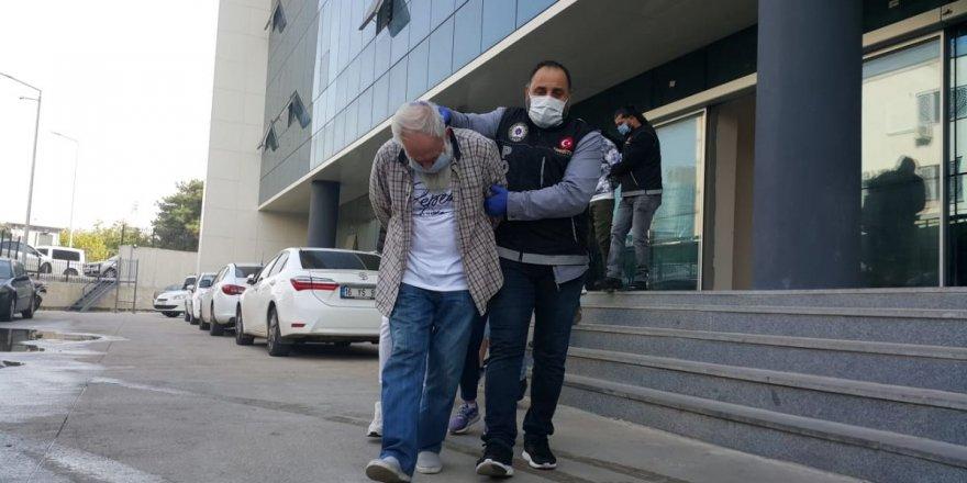 70 yaşındaki E.Ş. uyuşturucu ticaretinden gözaltına alındı