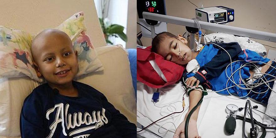 8 Yaşındaki kanser hastası Ahmet Ataç yaşamını yitirdi