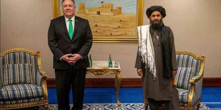 ABD Dışişleri Bakanı Pompeo, Taliban liderleri ile görüştü
