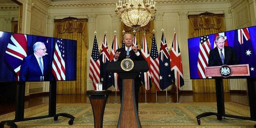 ABD, İngiltere ve Avustralya 'AUKUS' adı altında bir araya geliyor!