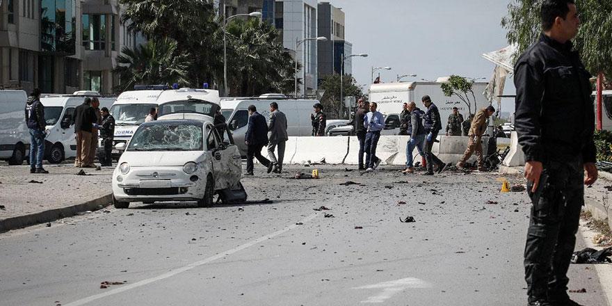 ABD Tunus Büyükelçiliği'ne bombalı saldırı