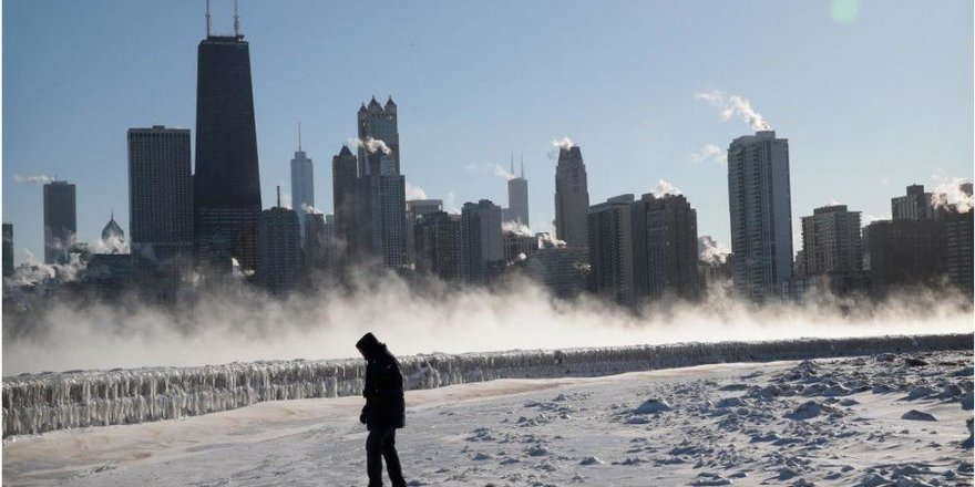 ABD'de 33 derecelik ani soğuma
