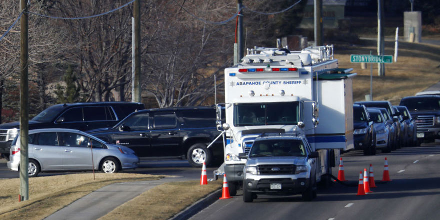 ABD'de polise silahlı saldırı: 1 ölü, 4 yaralı