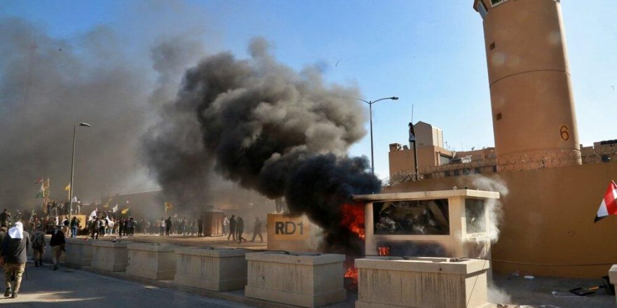 ABD'nin Bağdat Büyükelçiliği'ne roketli saldırı