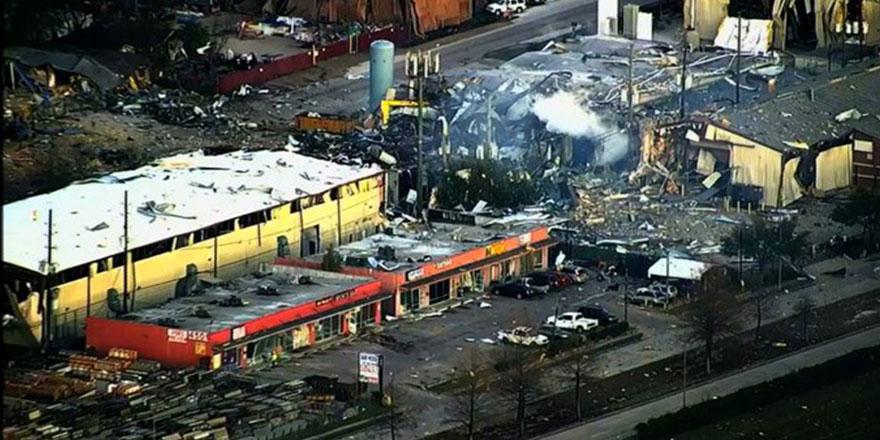ABD'nin Houston kentinde patlama: 2 ölü