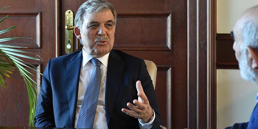 Abdullah Gül desteklediği siyasi partiyi açıkladı