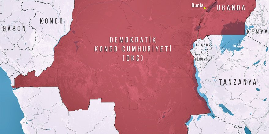 Afrika ülkesi, Kongo'da silahlı saldırı: 6 ölü