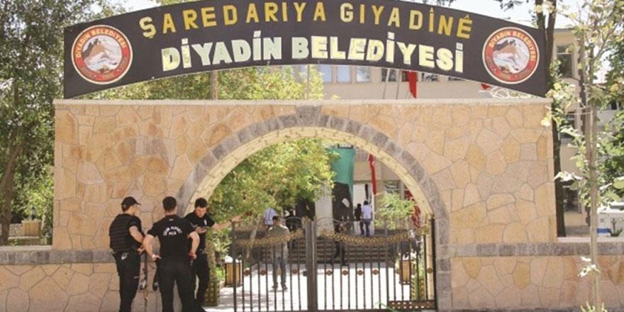 Ağrı Diyadin'de belediye başkanı gözaltına alındı