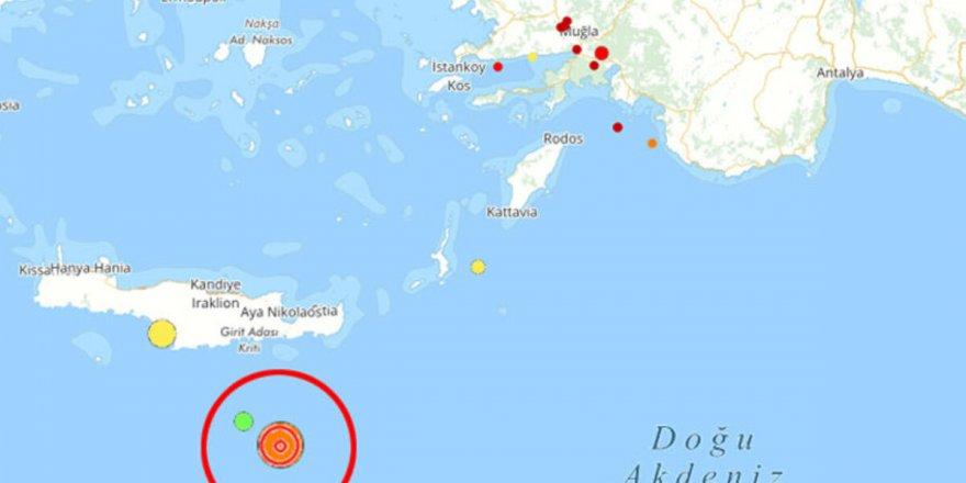 Akdeniz'de peş peşe meydana gelen 3 deprem korkuttu!