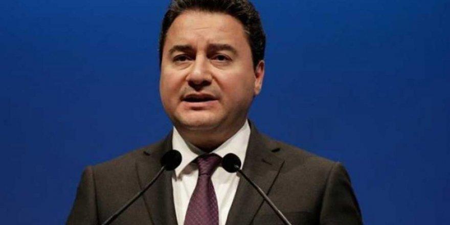 Ali Babacan: Cumhurbaşkanı Hükümet sistemi dün gece iflasını açıklamıştır