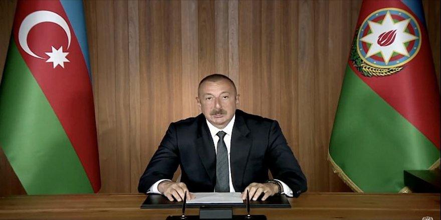 Aliyev, ateşkes için Bakü'nün şartlarını açıkladı