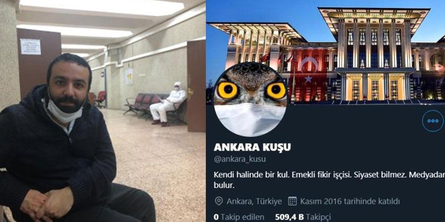 Ankara Kuşu hesabının kullanıcısı tutuklandı