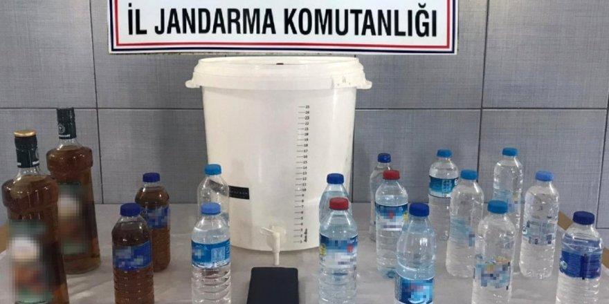 Ankara'da kaçak ve sahte içki operasyonu