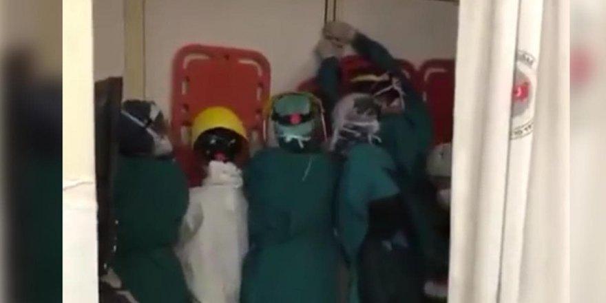 Ankara'da sağlık çalışanlarına saldıranlar hakkında soruşturma