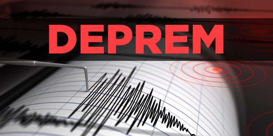 Antalya 5.2 şiddetinde deprem ile sallandı
