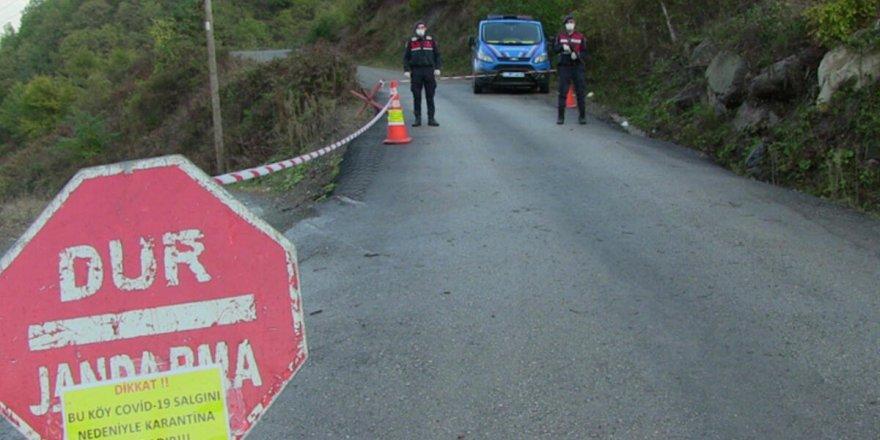 Artvin'de 4 köy Covid19 nedeniylekarantina altına alındı