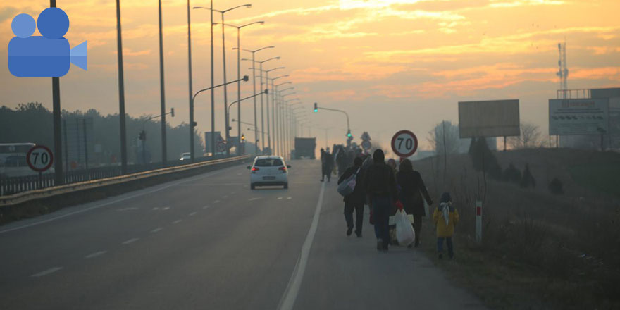 Avrupa kapıları açıldı! Mülteci akını başladı