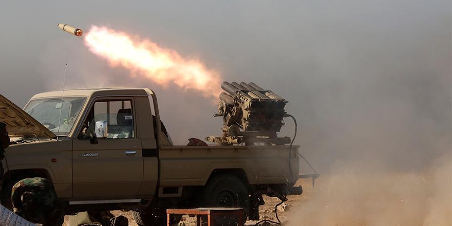 Bağdat'ta Çinli şirkete füze saldırısı