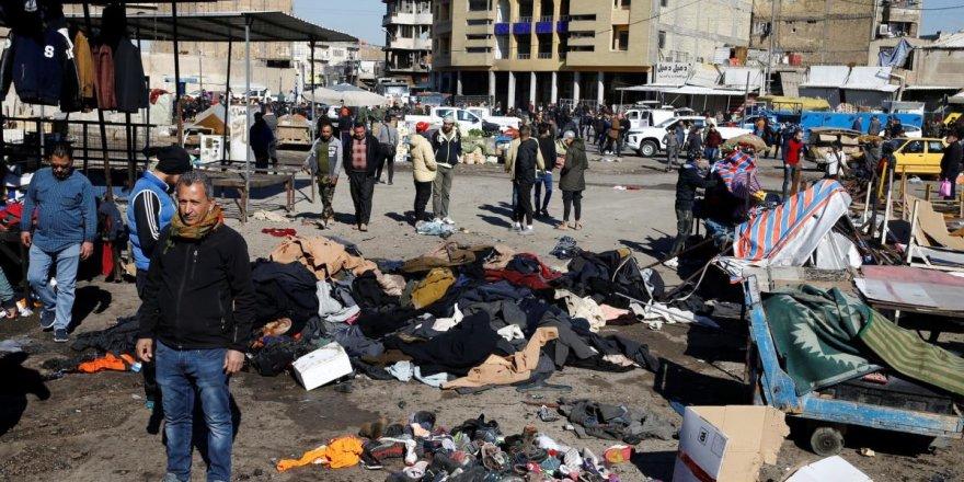 Bağdat'ta son 3 yılın en büyük intihar saldırıları: En az 20 ölü, 40 yaralı