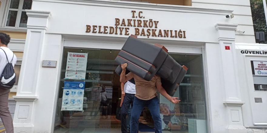 Bakırköy Belediyesi Başkanlığı'na borçlarından ötürü haciz geldi