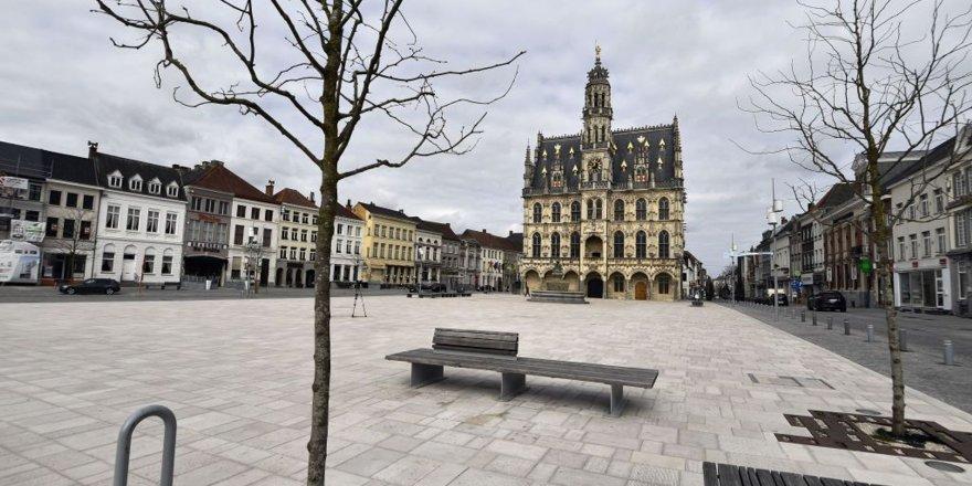 Belçika'da sokağa çıkma yasağı
