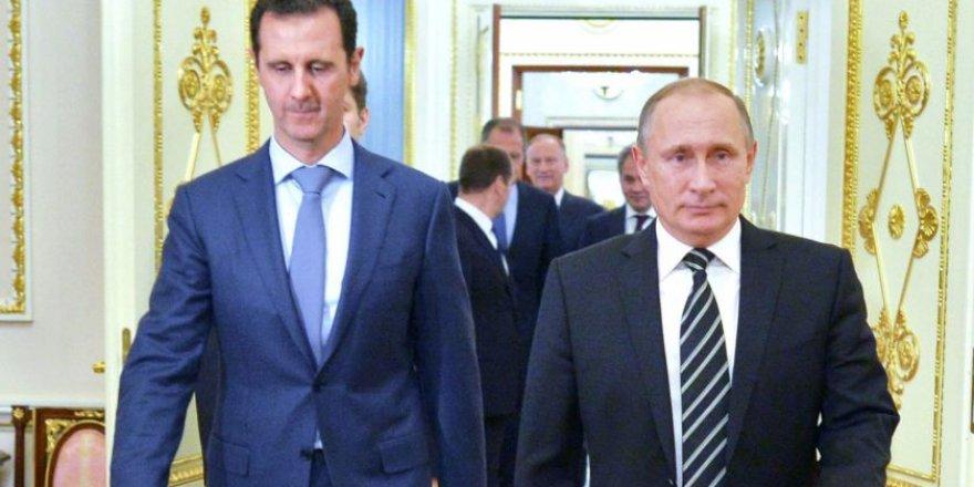 Beşar Esed Moskova'da Putin'le biraraya geldi