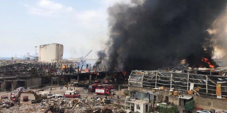 Beyrut Limanı yeniden alevlere teslim