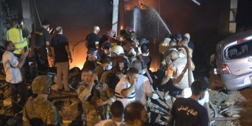 Beyrut'ta yine patlama! Ölü ve yaralılar var!