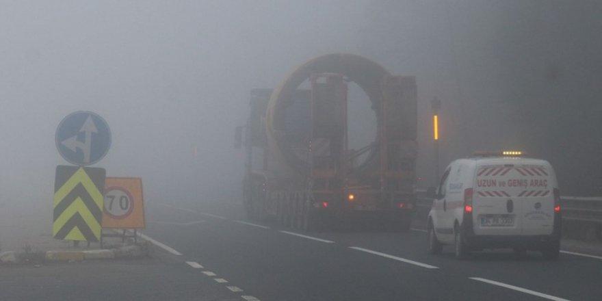 Bolu Dağı geçişine sis engeli