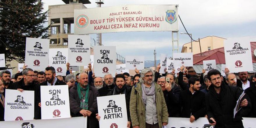 Bolu'dan 28 Şubat çağrısı: Mahpuslar Serbest Bırakılsın!