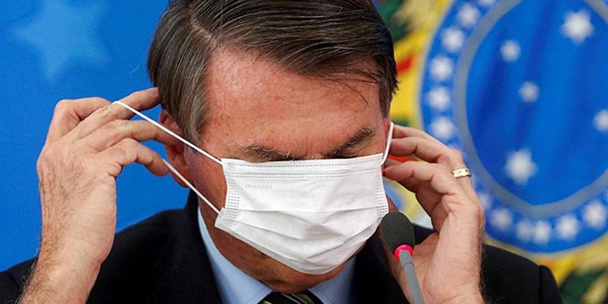 Brezilya Devlet Başkanı Bolsonaro'nun Covid-19 testi pozitif çıktı