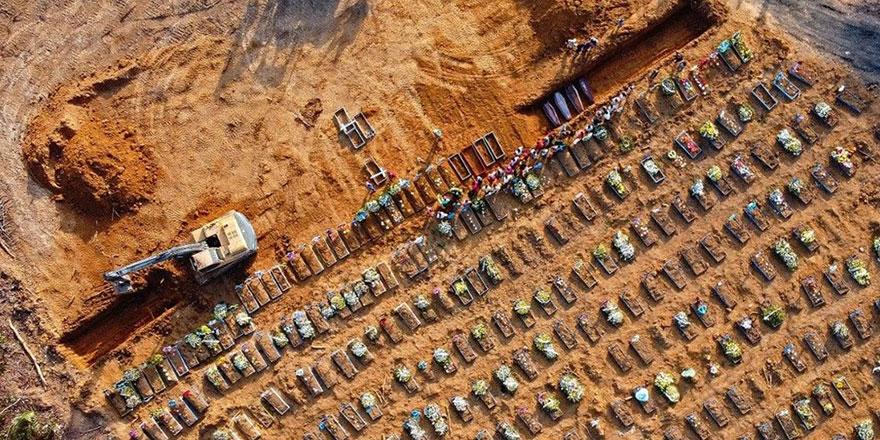 Brezilya'da günlük ölü sayısı yükselmeye devam ediyor