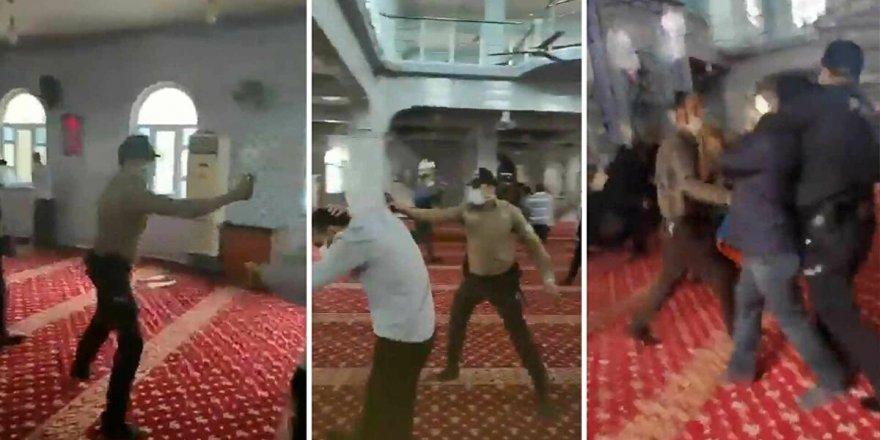 Camide biber gazı sıkan emniyet personeli açığa alındı!