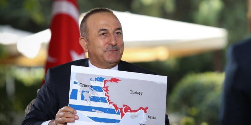 Çavuşoğlu: Atina, adaları silahlandırıyor