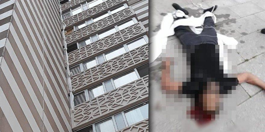 Cezaevindeki Kovid hastası yurda yerleştirildi: Kaçmak için 12. kattan sarkıttığı çarşaflar koptu, hayatını kaybetti