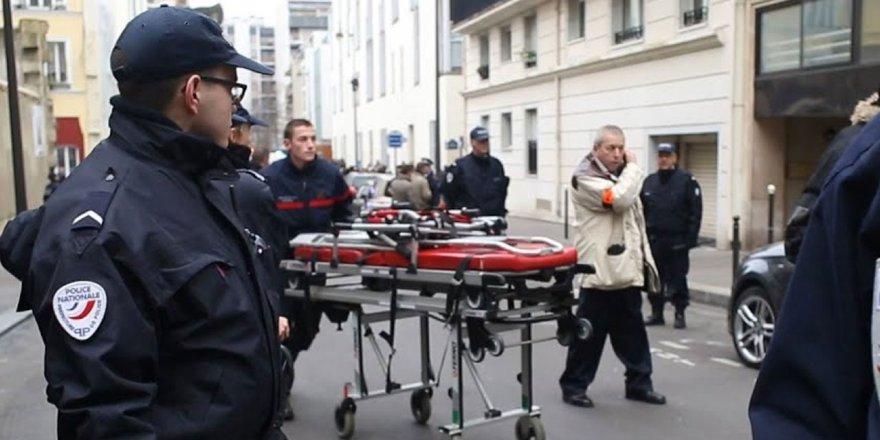 Charlie Hebdo yakınlarında bir saldırı daha