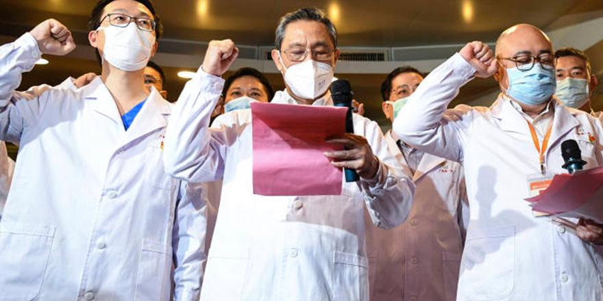 """Çin: """"Koronavirüs salgını sona erdi"""""""
