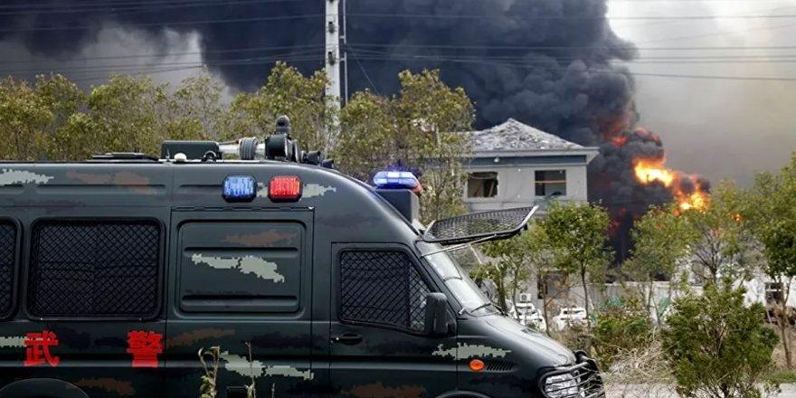 Çin'de doğal gaz patlaması: En az 14 ölü 144 kişi yaralı
