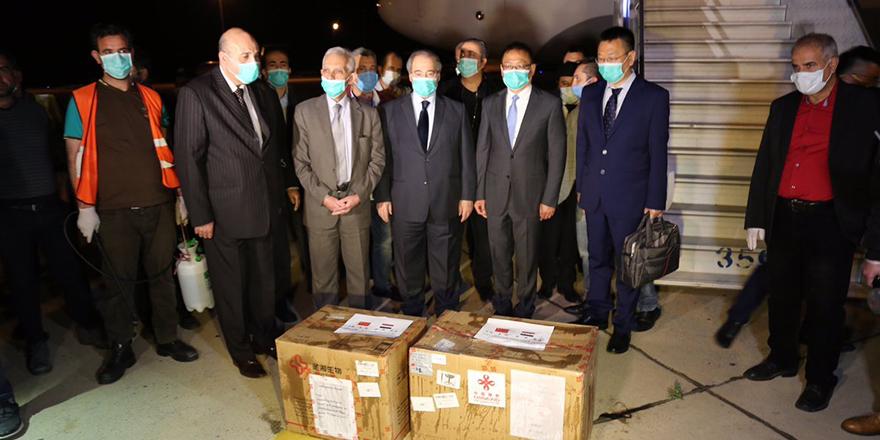 Çin'den Suriye'ye 'şaşırtan' koronavirüs yardımı